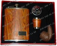 Набор Холмса Мужской подарочный набор DJH-0729 Фляга+стопка+лейка+курительная трубка Интересный подарок