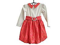 Платье на девочку с длинным рукавом «Малышка»