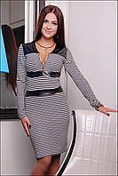 Красивое женское платье в полосу IR Ирис