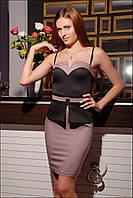 Коктейльное женское платье IR Корсет