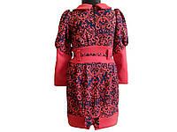 Трикотажное платье на девочку «Классик»