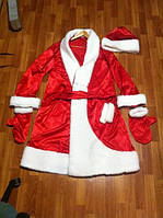 Дед Мороз костюм для мужчины , Костюм взрослый - Дед мороз