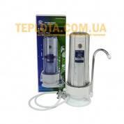 Проточный бытовой фильтр для воды Aquafilter FHCTF (одноступенчатый, надмоечный)
