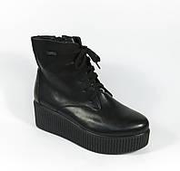 Женские осенние ботинки на платформе