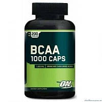 Optimum Nutrition BCAA 1000 400 капсул Аминокислоты