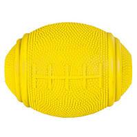 Trixie (Трикси) Snack Rugby Ball Игрушка кормушка для собак мяч регби 10 см