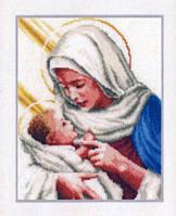 """Набор для вышивки крестом """"Мария и Иисус"""""""