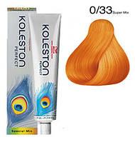 0/33 крем-краска для волос - золотистый интенсивный (Koleston Perfect, Специальные тона), 60 мл