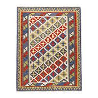 """ИКЕА """"ПЕРСИСК КИЛИМ КАШГАЙ"""" Ковер, безворсовый, различные орнаменты 125x180 см."""