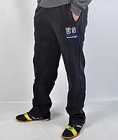 Мужские теплые спортивные штаны на байке - зима