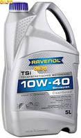 Масло моторное полусинтетика RAVENOL(равенол) TSi SAE 10W-40 5л.