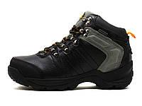 Ботинки зимние унисекс KnoWay, черные, кожа, фото 1