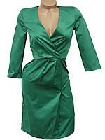 Модное платье с глубоким вырезом (в расцветках 40-44)