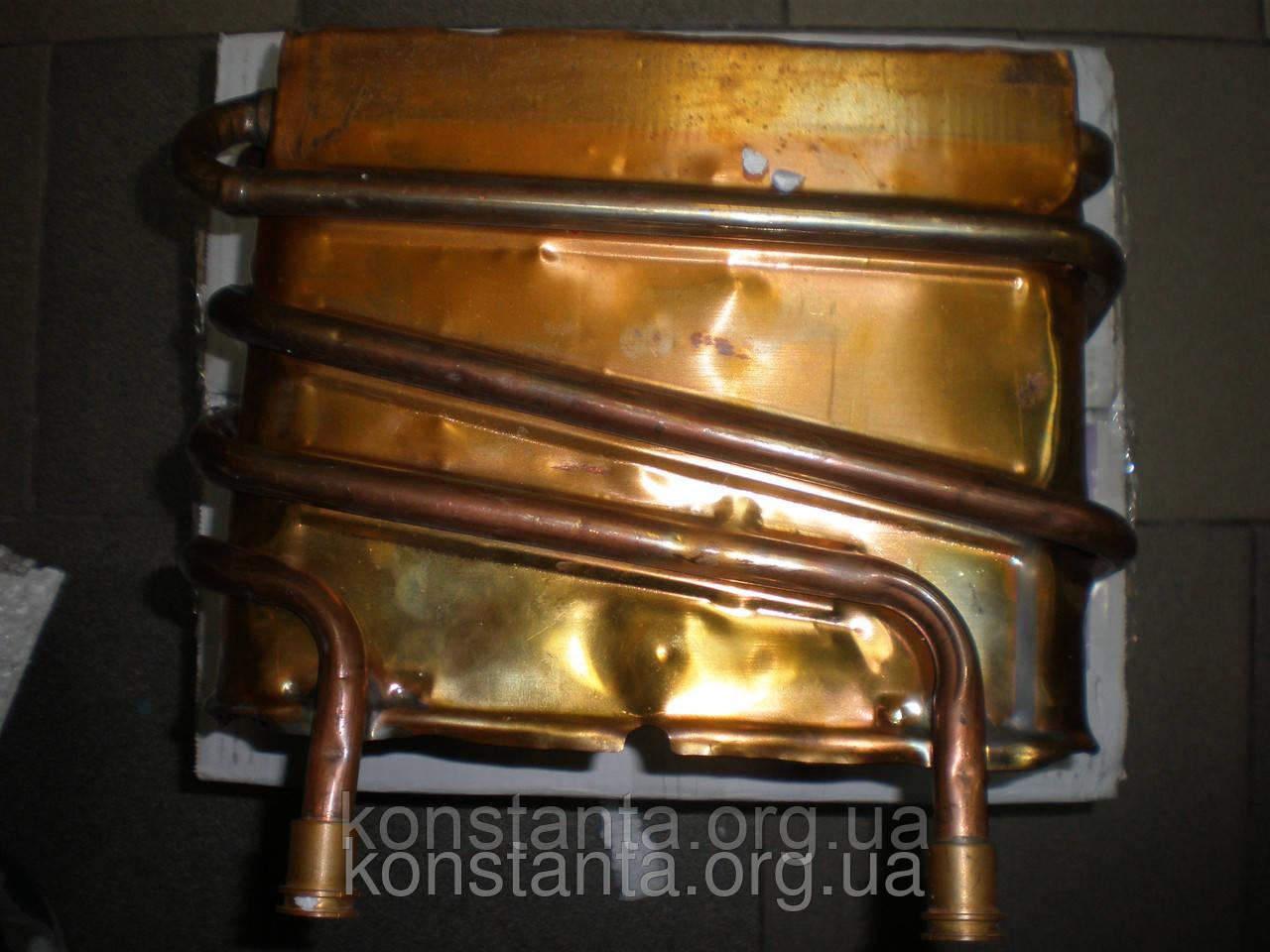 Ремонт теплообменника и медных трубок газовой колонки 29