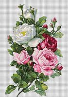 """Набор для вышивания крестом """"Luca-s"""" BA22855 Букет из роз"""
