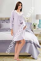 Красивая ночная сорочка Shirly 5966 для беременных, платье для дома и отдыха