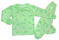 Пижама с начесом от 3 до 8 лет