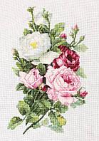 """Набор для вышивания крестом """"Luca-s"""" B2285 Букет из роз"""