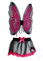 Набор феи: крылья 46*56 см, палочка, юбка