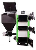 Твердотопливные котлы отопления MCE Котел твердотопливный MCE V6 SP 32 кВт с вентилятором