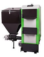 Твердотопливные котлы отопления MCE Котел твердотопливный MCE V7 SP 25 кВт с вентилятором