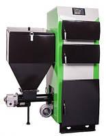 Твердотопливные котлы отопления MCE Котел твердотопливный MCE V2 DUO SP 18 кВт с вентилятором