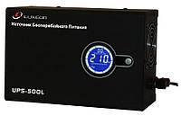 Источники бесперебойного питания (ИБП) Luxeon ИБП c правильной синусоидой  Luxeon UPS 500L