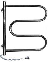 Полотенцесушители электрические NAVIN Полотенцесушители электрические из нержавейки Navin Змеевик 500x600 поворотный