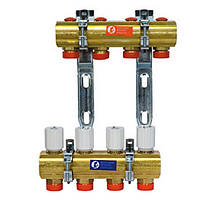Коллекторы GIACOMINI Коллекторный узел для систем отопления с лучевой разводкой Giacomini R553Y006