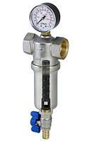 """Фильтры RBM Самоочищающийся фильтр с манометром Compact 100 мкм. """"1""""  RBM"""