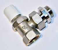 """Радиаторные краны RBM Угловой настроечный клапан RBM для стальной трубы тяжелая серия RFS1/2"""" (обратка)"""
