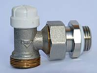 Радиаторные краны RBM Угловой настроечный клапан для стальной трубы  1/2-16RBM (обратка)