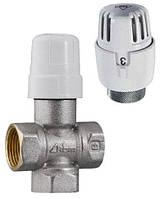 Радиаторные краны RBM Трехходовой терморегулирующий клапан для вертикальных однотрубных систем