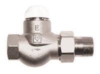 """Термостатические клапаны HERZ Herz TS-E клапан термостатический ¾"""" проходной"""