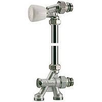 Термостатические клапаны GIACOMINI Группа микрометрическая термостатическая для двухтрубных cистем Giacomini R438x036 угловой клапан