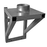Комплектующие для устройства дымохода из нержавейки Sanco Опорный стакан (кронштейн) 100 мм