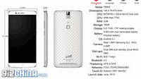 Смартфон Elephone P8000, 3/16GB. Белый.