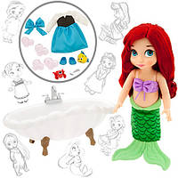 Подарочный набор Русалочка Disney Animators' Collection Ariel Doll Deluxe Gift Set