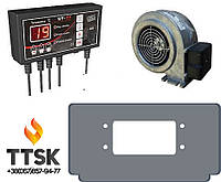 Комплект автоматики для твердотопливного котла Виадрус , Tech ST-22+WPA 06+переходник
