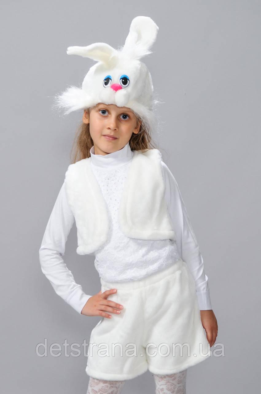 Детский Карнавальный костюм Заяц белый, цена 160 грн ... - photo#22