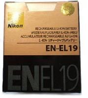 Аккумулятор EN-EL19 для камер NIKON COOLPIX: S2500, S4100, S4150, S4200, S4300, S3100, S3200, S3300, S100.