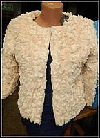 Красивая женская шубка Розочка