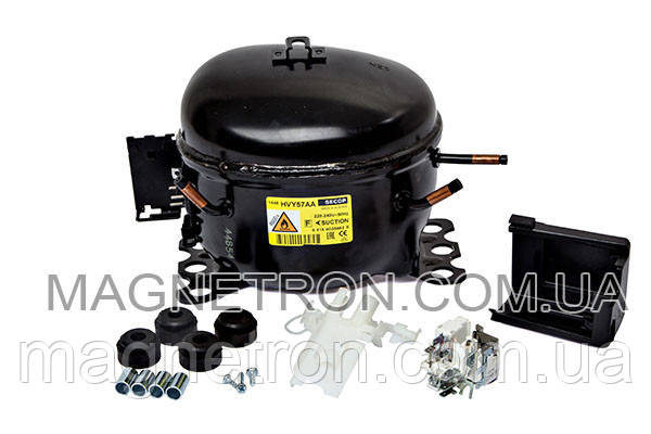 Компрессор к холодильнику SECOP HVY57AA R600a 88W Whirlpool 480181700841, фото 2