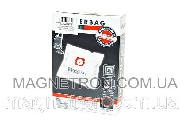 Комплект мешков микроволокно Wonderbag Compact для пылесоса Rowenta WB305120, фото 2