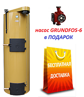 Котел STROPUVA S40-U на дровах 40кВт