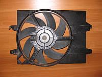 Дифузор с вентилятором бу для Форд Фиеста, Фьюжн