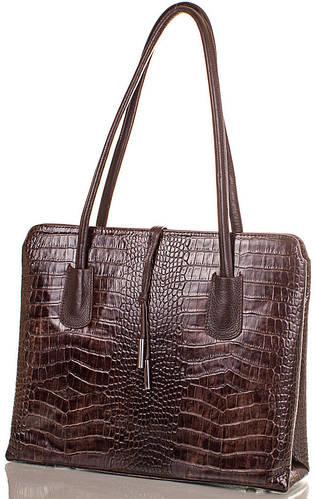 Красивая женская кожаная сумка DESISAN, SHI062-10-KR