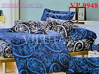 Постельное белье, двухспальное, ранфорс, Вилюта (VILUTA) VР 9948