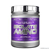 Scitec Isolate Amino 500 капсул Аминокислотный комплекс