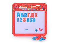 """Обучающая игрушка""""Досточка. Магнитная азбука"""" 0185 UK Metr+"""